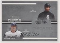 Bo Jackson, Joe Borchard, Carlos Lee, Charles Johnson #/150