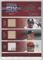 Rickey Henderson, Jim Edmonds, Troy Glaus, Francisco Rodriguez, Darin Erstad /1…