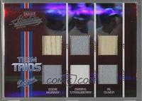 Darryl Strawberry, Al Oliver, Eddie Murray [Noted] #/35