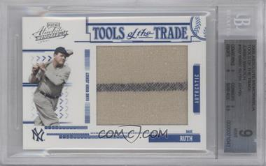 2005 Playoff Absolute Memorabilia - Tools of the Trade - Jumbo Materials #TT-102 - Babe Ruth /95 [BGS 9 MINT]