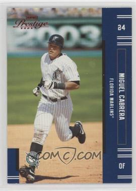 2005 Playoff Prestige - [Base] - Red Foil #24 - Miguel Cabrera /25