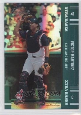 2005 Playoff Prestige - [Base] - Xtra Bases Green #141 - Victor Martinez /50