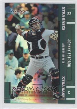 2005 Playoff Prestige - [Base] - Xtra Bases Green #73 - Johnny Estrada /50