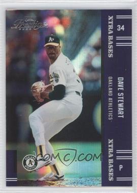 2005 Playoff Prestige - [Base] - Xtra Bases Purple #188 - Dave Stewart /100