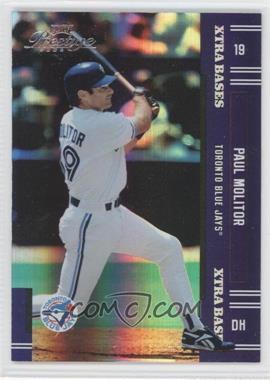2005 Playoff Prestige - [Base] - Xtra Bases Purple #200 - Paul Molitor /100