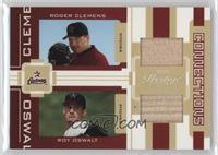 Roger Clemens, Roy Oswalt #/250