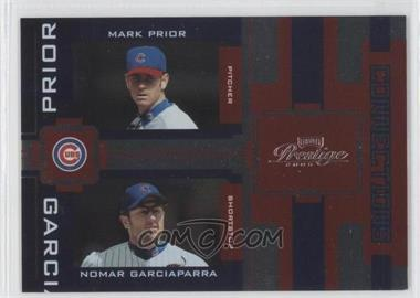 2005 Playoff Prestige - Connections - Foil #C-10 - Mark Prior, Nomar Garciaparra /100
