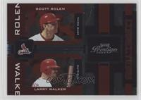 Scott Rolen, Larry Walker /100