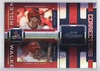 Scott Rolen, Larry Walker #/25