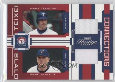 2005 Playoff Prestige - Connections - Jerseys [Memorabilia] #C-21 - Mark Teixeira, Hank Blalock /100