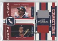 Reggie Jackson, Rod Carew /250