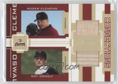 2005 Playoff Prestige - Connections - Jerseys [Memorabilia] #C-6 - Roger Clemens, Roy Oswalt /250