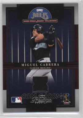 2005 Playoff Prestige - MLB Game-Worn Jersey Collection #10 - Miguel Cabrera