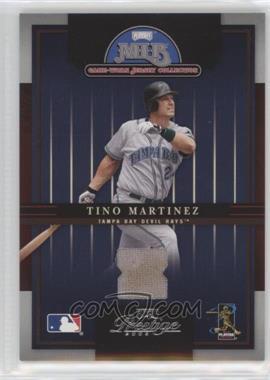 2005 Playoff Prestige - MLB Game-Worn Jersey Collection #14 - Tino Martinez