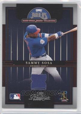 2005 Playoff Prestige - MLB Game-Worn Jersey Collection #15 - Sammy Sosa