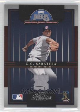 2005 Playoff Prestige - MLB Game-Worn Jersey Collection #16 - CC Sabathia