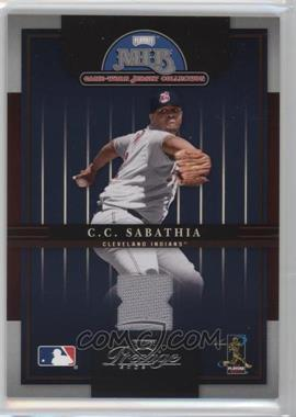 2005 Playoff Prestige - MLB Game-Worn Jersey Collection #16 - CC Sabathia