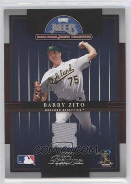 2005 Playoff Prestige - MLB Game-Worn Jersey Collection #4 - Barry Zito