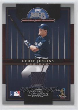 2005 Playoff Prestige - MLB Game-Worn Jersey Collection #8 - Geoff Jenkins