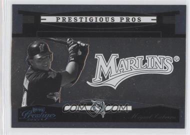 2005 Playoff Prestige - Prestigious Pros - Platinum #PP-33 - Miguel Cabrera /25
