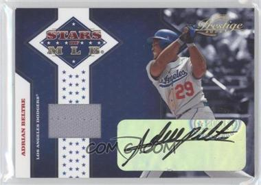 2005 Playoff Prestige - Stars of MLB - Jerseys Autographs [Autographed] [Memorabilia] #MLB-2 - Adrian Beltre /50