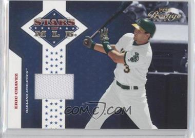2005 Playoff Prestige - Stars of MLB - Jerseys [Memorabilia] #MLB-3 - Eric Chavez /100