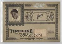 Willie Mays #/50