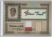 Willie Mays #/10