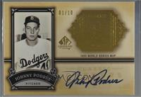 Johnny Podres [Noted] #/10