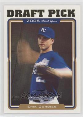 2005 Topps - [Base] #675 - Erik Cordier