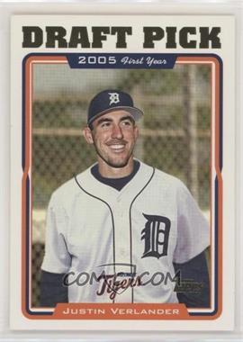 2005 Topps - [Base] #677 - Justin Verlander