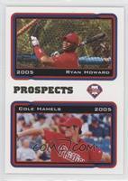 Ryan Howard, Cole Hamels
