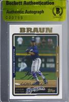 Ryan Braun [BAS Certified BAS Encased]