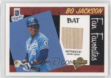 2005 Topps All-Time Fan Favorites - Relics #FFR-BJ - Bo Jackson