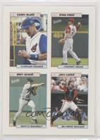 Casey Blake, Ryan Freel, Bret Boone, Javy Lopez