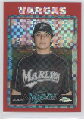 2005 Topps Chrome Update & Highlights - [Base] - Red X-Fractor #UH27 - Jason Vargas /65
