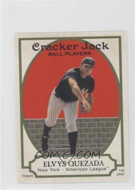 2005 Topps Cracker Jack - [Base] - Mini Stickers #200 - Elvys Quezada