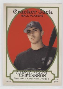 2005 Topps Cracker Jack - [Base] #218 - Chip Cannon