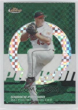 2005 Topps Finest - [Base] - Green X-Fractor #134 - Sidney Ponson /50