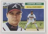 Chipper Jones (Fielding in Background)