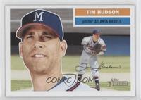 Tim Hudson (Milwaukee Braves Cap Logo)