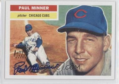 2005 Topps Heritage - Real One Autographs #RO-PM - Paul Minner