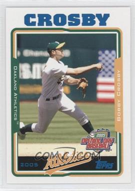 2005 Topps Opening Day - [Base] #9 - Bobby Crosby