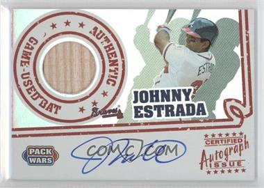 2005 Topps Pack Wars - Autograph Relics #PWRA-JE - Johnny Estrada /200