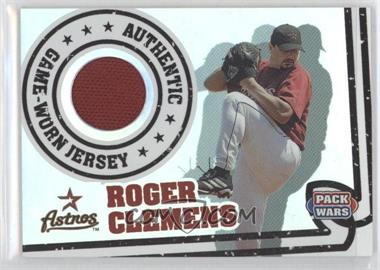 2005 Topps Pack Wars - Relics #PWR-RC - Roger Clemens