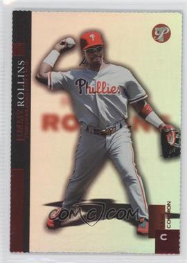 2005 Topps Pristine - [Base] - Die-Cut #33 - Base Common - Jimmy Rollins /66
