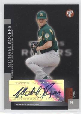 2005 Topps Pristine - [Base] #192 - Base Rare - Michael Rogers /100