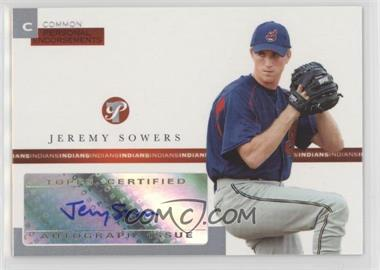 2005 Topps Pristine - Personal Endorsements Common #PEC-JS - Jeremy Sowers /497