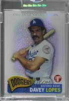 Davey Lopes [Uncirculated] #/549