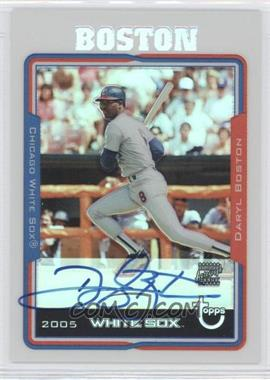 2005 Topps Retired Signature Edition - Autographs - Refractors #TA-DLB - Daryl Boston /25
